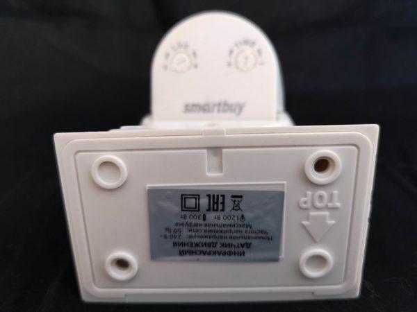 Инфракрасный датчик движения Smartbuy, настенный IP44 (до 12 метров) 5