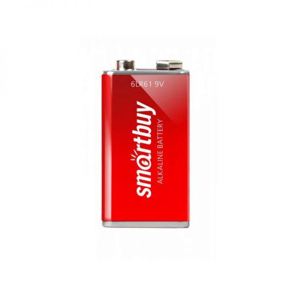 Батарейка алкалиновая Крона Smartbuy 6LR61/1B (12/240) 1