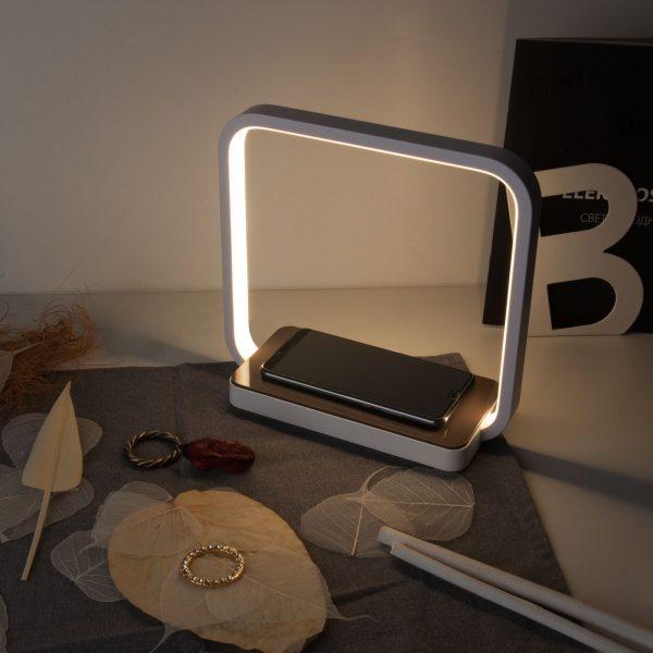 Настольный светодиодный светильник 80502/1 белый 80502/1 белый 9