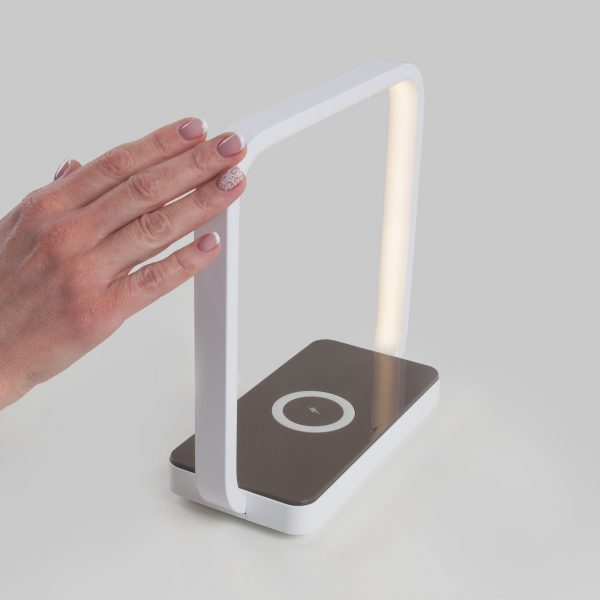 Настольный светодиодный светильник 80502/1 белый 80502/1 белый 12
