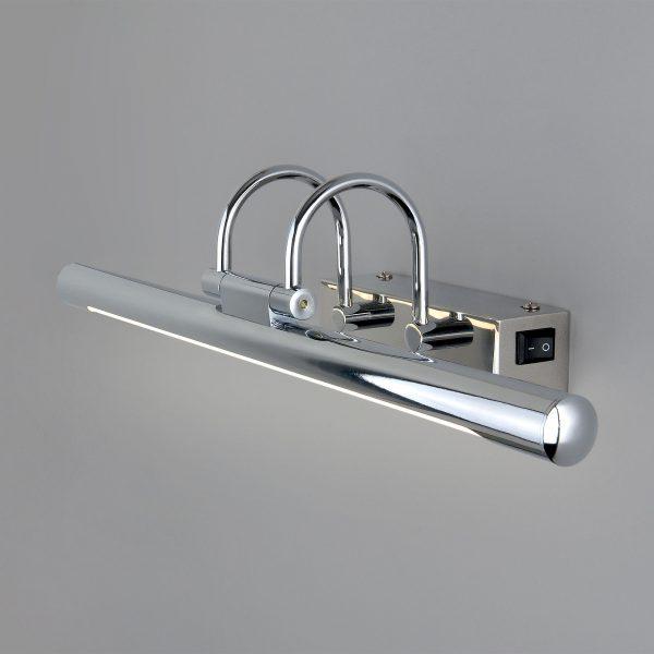 Flint Neo SW LED хром Настенный светодиодный светильник с выключателем MRL LED 1022 2