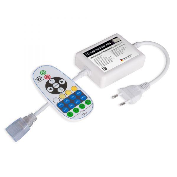 Контроллер для светодиодной ленты Premium мультибелый с ПДУ 220V (радио) IP20 LSC 007