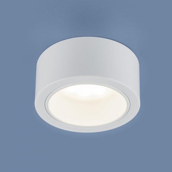 Накладной точечный светильник 1070 GX53 WH белый