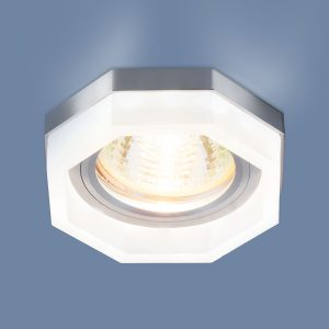 Встраиваемый потолочный светильник с LED подсветкой 2206 MR16 MT матовый