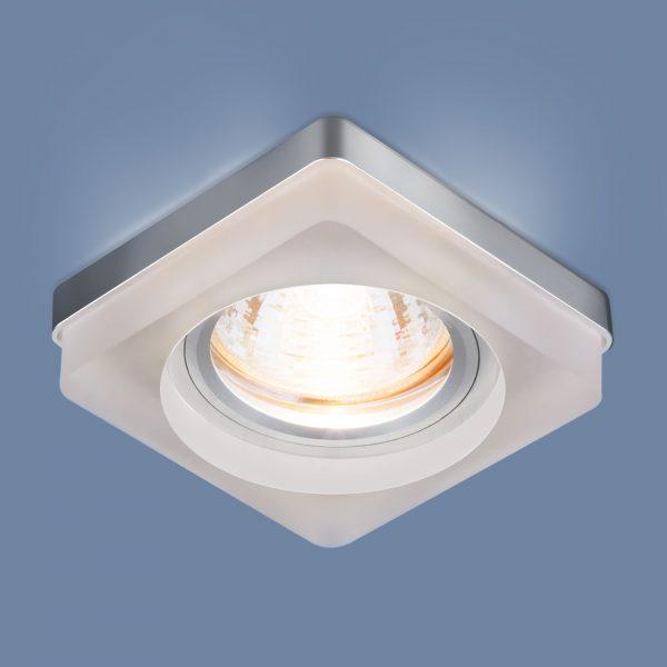 Встраиваемый потолочный светильник с LED подсветкой 2207 MR16 MT матовый 1
