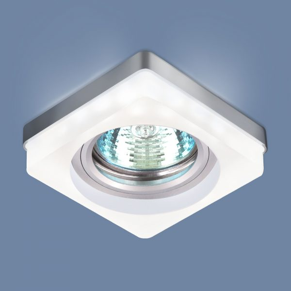 Встраиваемый потолочный светильник с LED подсветкой 2207 MR16 MT матовый 2