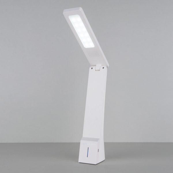 Настольный светодиодный светильник Desk белый/серебряный TL90450 3