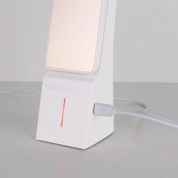 Настольный светодиодный светильник Desk белый/золотой TL90450 5