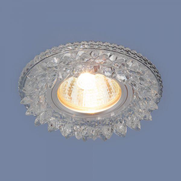 Встраиваемый потолочный светильник с LED подсветкой 2212 MR16 CL прозрачный 2