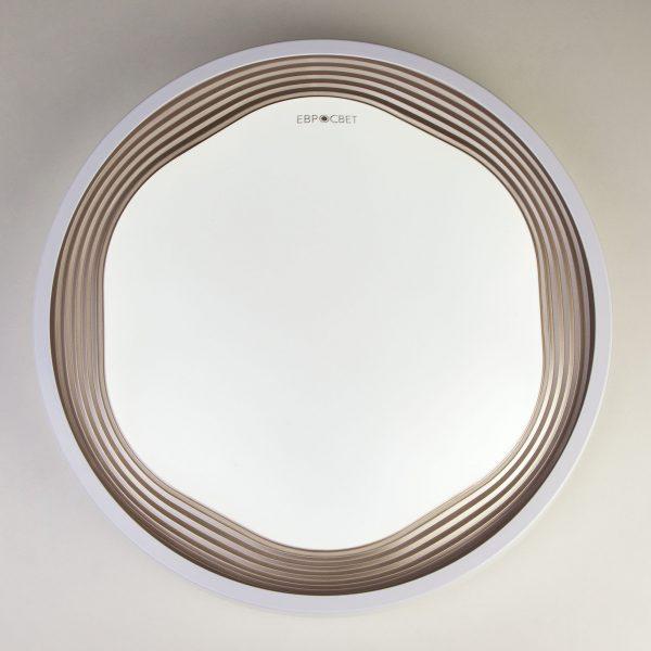 Накладной светодиодный светильник 40005/1 LED кофе 1