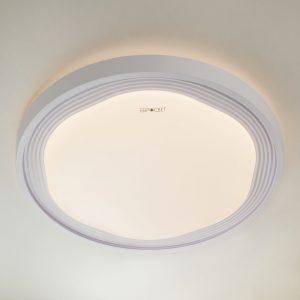 Накладной светодиодный светильник 40006/1 LED белый
