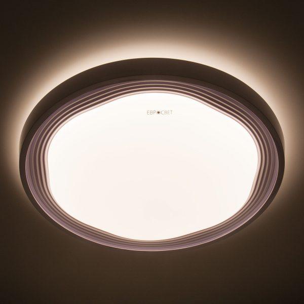 Накладной светодиодный светильник 40006/1 LED белый 1