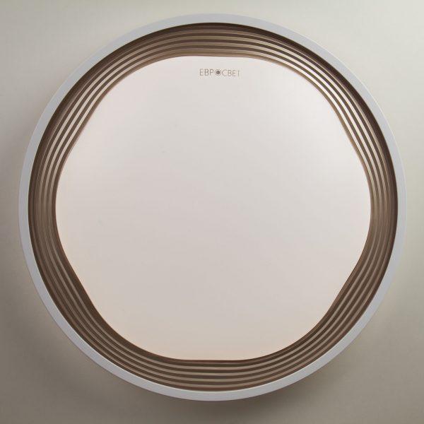 Накладной светодиодный светильник 40006/1 LED кофе 2