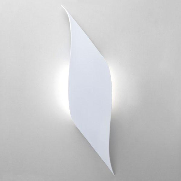 Настенный светодиодный светильник белый 40130/1 LED белый 1