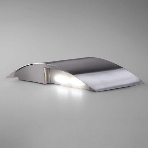 Настенный светодиодный светильник 40130/1 LED сатин-никель 3