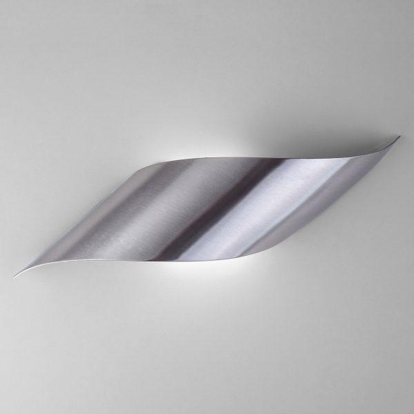 Настенный светодиодный светильник 40130/1 LED сатин-никель