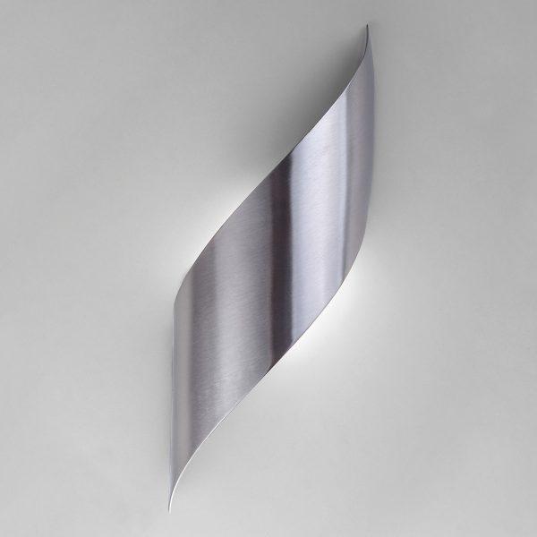 Настенный светодиодный светильник 40130/1 LED сатин-никель 2