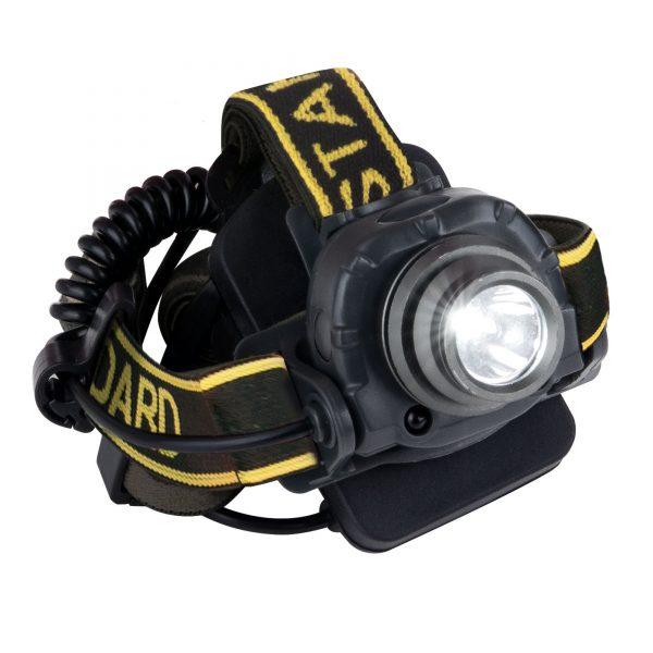 Налобный светодиодный фонарь с функцией бесконтактного включения Wizard
