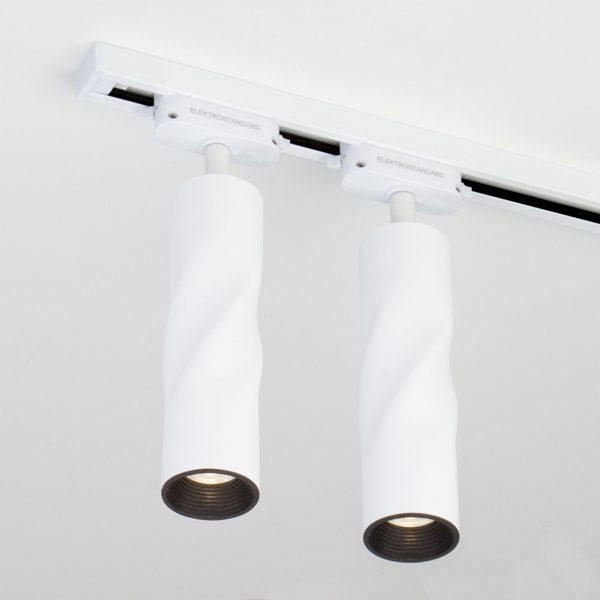 Трековый светодиодный светильник для однофазного шинопровода Royal Белый 5W 4200K LTB26 4