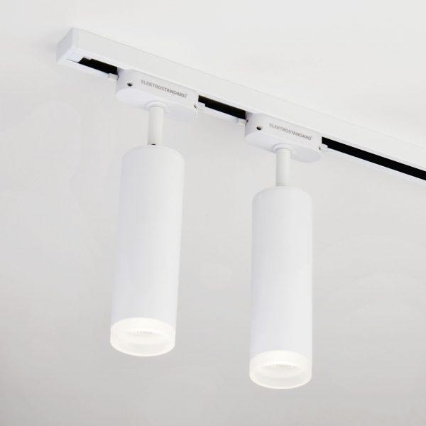 Трековый светодиодный светильник для однофазного шинопровода Oskar Белый 10W 4200K LTB28 4