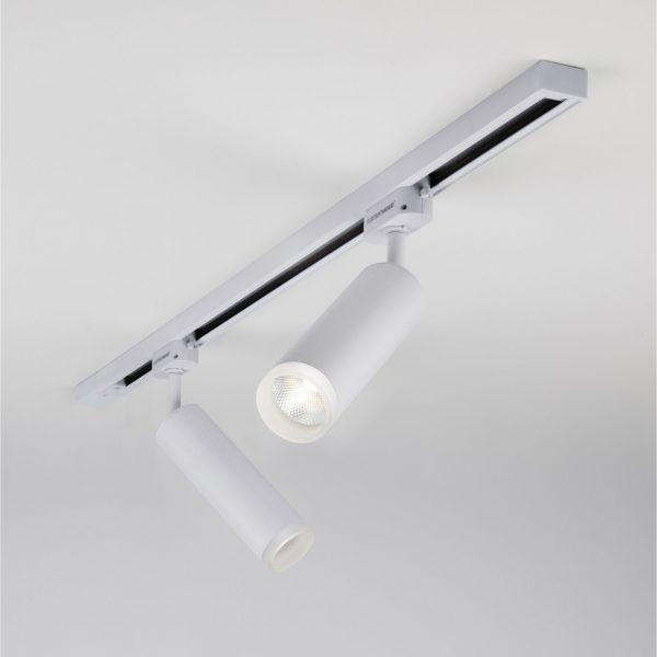 Трековый светодиодный светильник для однофазного шинопровода Oskar Белый 10W 4200K LTB28 3