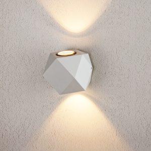 KROKET белый уличный настенный светодиодный светильник 1565 TECHNO LED