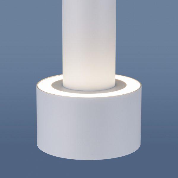 Накладной потолочный  светодиодный светильник DLR033 9W 4200K 3300 белый/хром 3