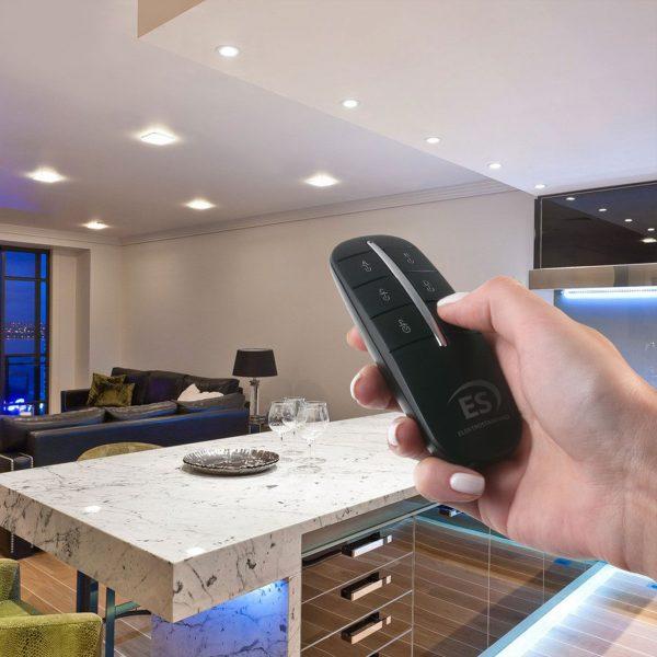 4-канальный контроллер для дистанционного управления освещением Y8 2