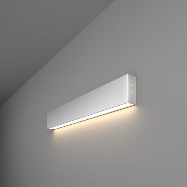 линейный светодиодный светильник накладной