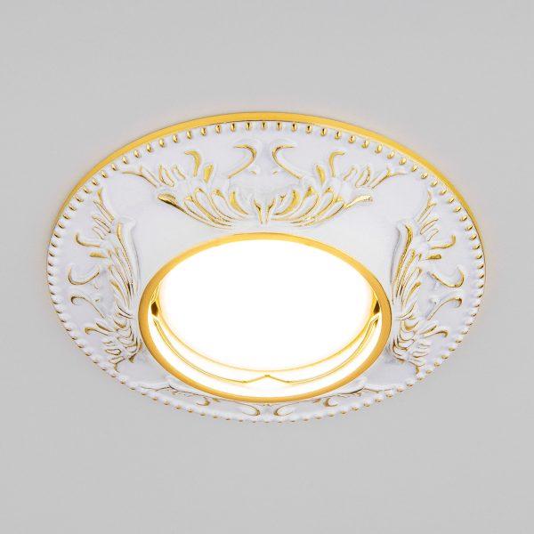 Точечный светильник 7217 MR16 WHG белый/золото 1