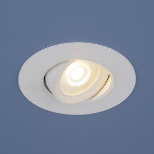 Встраиваемый потолочный светодиодный светильник 9906 LED 6W WH белый