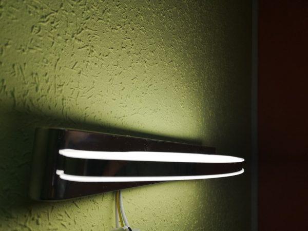 Настенный светильник диодный хром и мат купить в минске