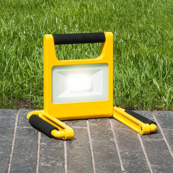 Аккумуляторный светодиодный прожектор 007 FL LED 10W 6500K IP54 Mobi 2