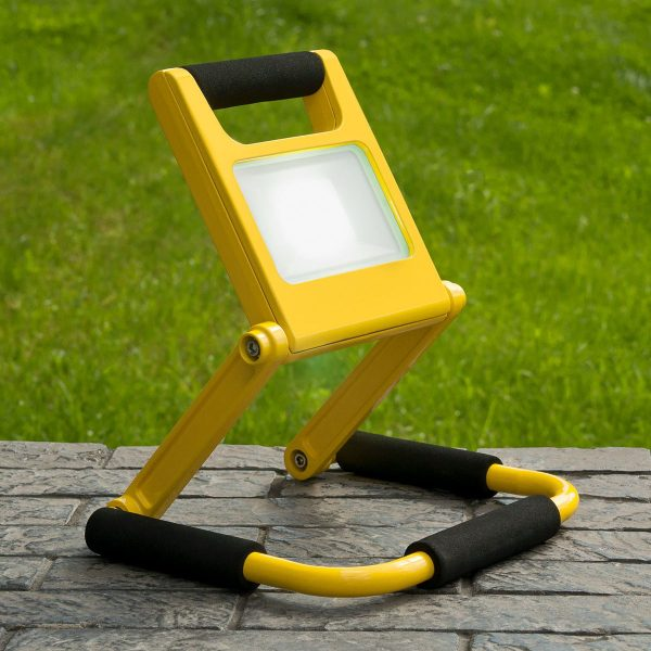 Аккумуляторный светодиодный прожектор 007 FL LED 10W 6500K IP54 Mobi 4