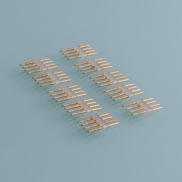 Внутренний переходник для светодиодного гибкого неона 5050 RGB (10 шт.) PSL-05 1