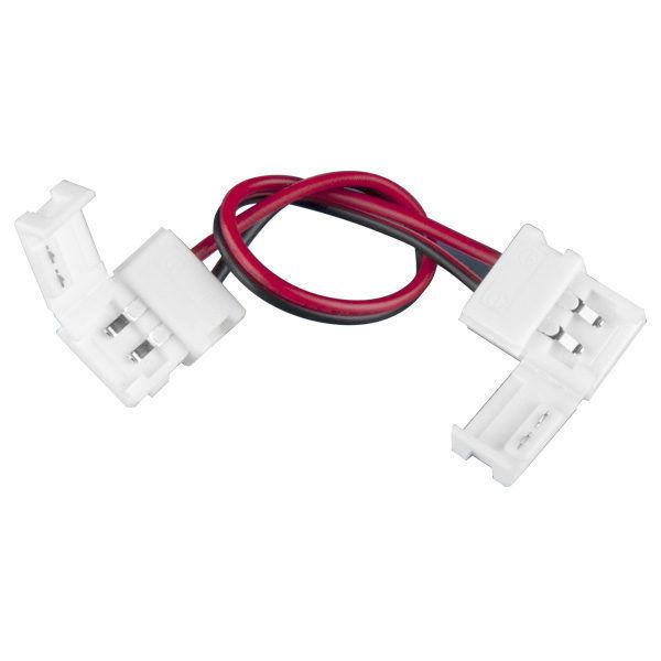 Коннектор для одноцветной светодиодной ленты 3528 гибкий двусторонний (5 шт.) a035715