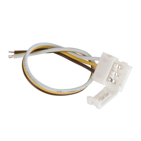 Коннектор для светодиодной ленты «Бегущая волна» гибкий односторонний (10 шт.) a037997
