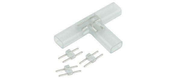 Т-образный переходник для светодиодной ленты 220V 3528 (10 шт.) a035328