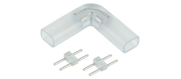 Угловой переходник для светодиодной ленты 220V 3528 (10 шт.) a035330