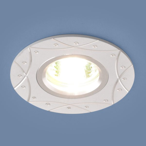Встраиваемый алюминиевый точечный светильник 5157 MR16 WH белый