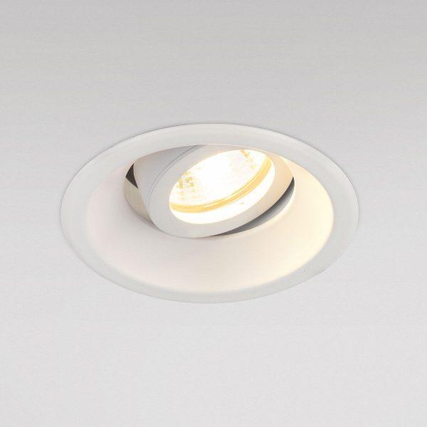 Алюминиевый точечный светильник 6068 MR16 WH белый 1