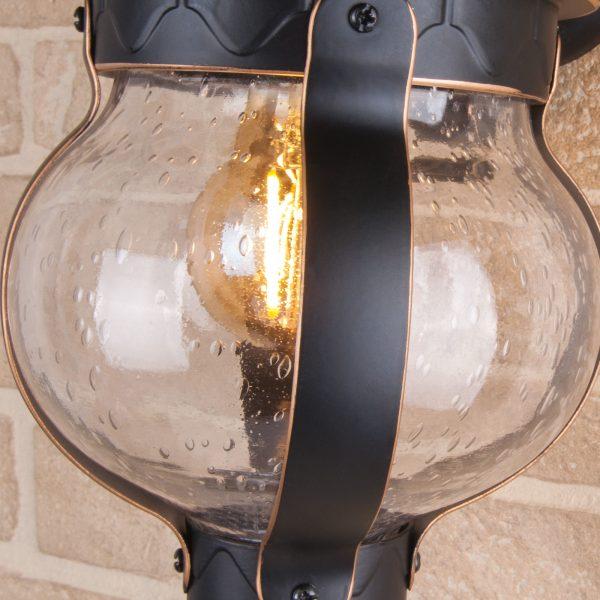 Barrel D черное золото уличный настенный светильник GL 1025D 3