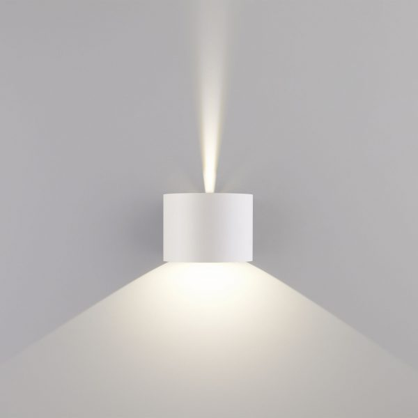 BLADE белый уличный настенный светодиодный светильник 1518 TECHNO LED 4