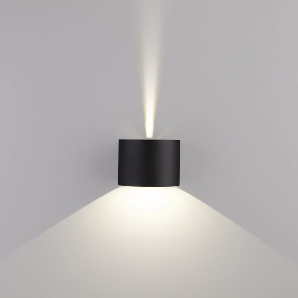 BLADE черный уличный настенный светодиодный светильник 1518 TECHNO LED 4