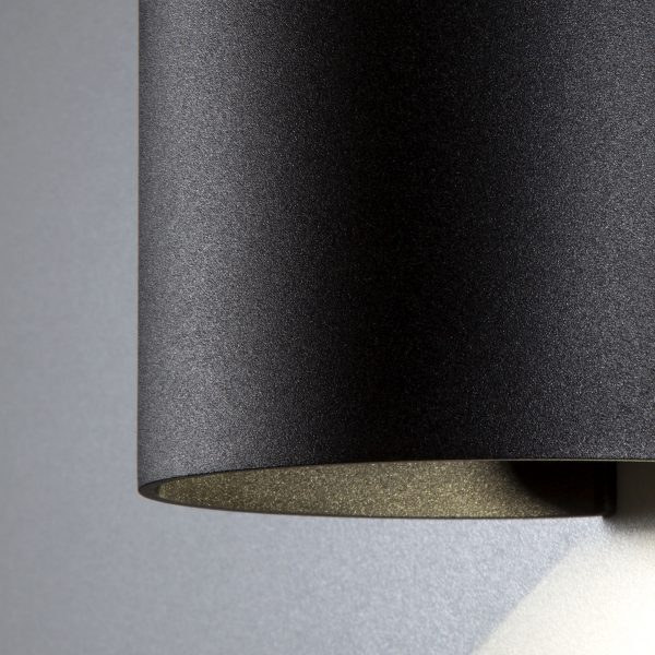BLADE черный уличный настенный светодиодный светильник 1518 TECHNO LED 5
