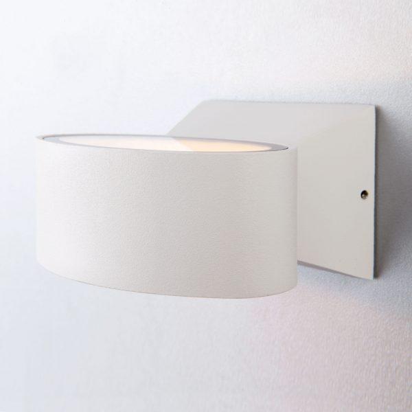 BLINC белый уличный настенный светодиодный светильник 1549 TECHNO LED 7