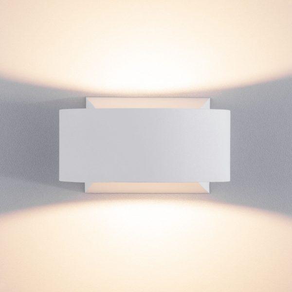 BLINC белый уличный настенный светодиодный светильник 1549 TECHNO LED 6