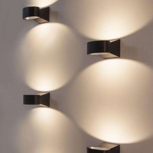 BLINC серый уличный настенный светодиодный светильник 1549 TECHNO LED 3