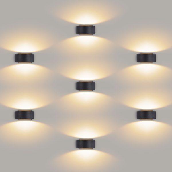 BLINC серый уличный настенный светодиодный светильник 1549 TECHNO LED 5