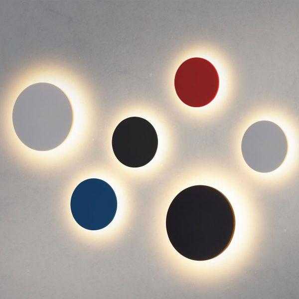 CONCEPT S красный уличный настенный светодиодный светильник 1660 TECHNO LED 1